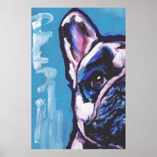 French Bulldog Frenchie Pop Art Poster Print