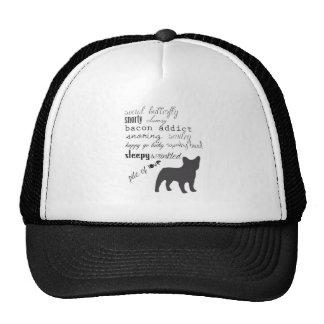 French Bulldog // Frenchie T Shirt Mesh Hat