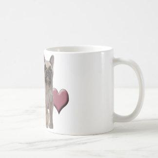 French Bulldog Friends Forever Classic White Coffee Mug