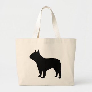 French Bulldog Gear` Large Tote Bag