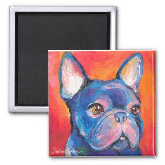 French Bulldog gifts Svetlana Novikova 2 Inch Square Magnet