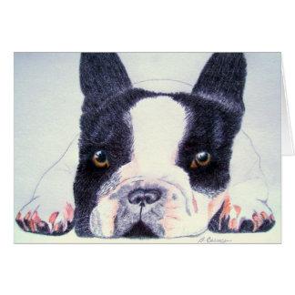 French Bulldog Greeting Cards