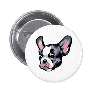 French Bulldog Head Pin