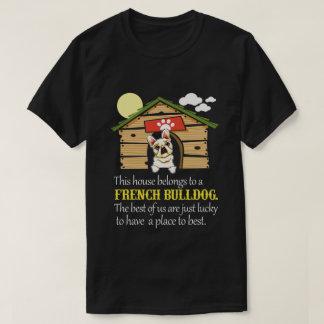 French Bulldog House T-Shirt