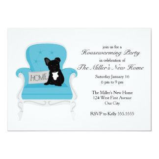 French Bulldog Housewarming Party Invitation