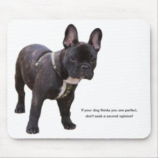 French bulldog humour, fun, mousepad, gift mouse pad