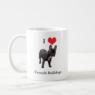 French Bulldog, I love heart, mug, gift idea Coffee Mug