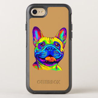 French Bulldog in Colors OtterBox Symmetry iPhone 7 Case