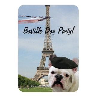 French Bulldog in Paris Card
