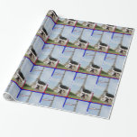 French Bulldog in Paris Gift Wrapping Paper