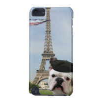 French bulldog in Paris iPod Touch 5G Case