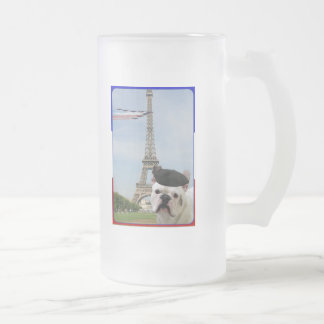 French Bulldog in Paris mug