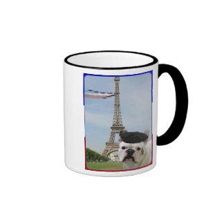 French Bulldog in Paris mug