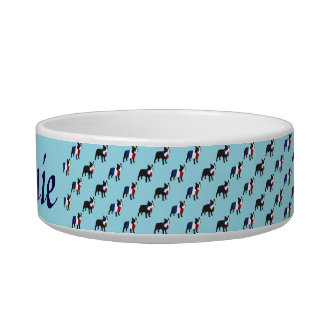 French Bulldog in stylish outfit Bowl