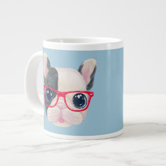 French bulldog jumbo coffee mug