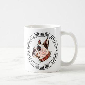 French Bulldog Kabuki Coffee Mug