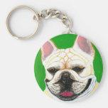 French Bulldog Key Chain