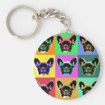 French bulldog key chains