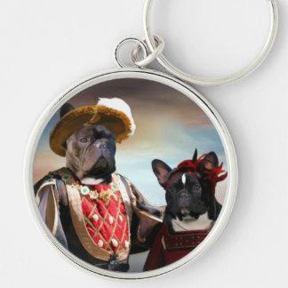 French Bulldog  Keychain  Nobility Dogs Gift