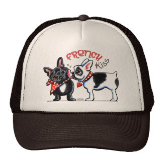 French Bulldog Kiss Trucker Hat