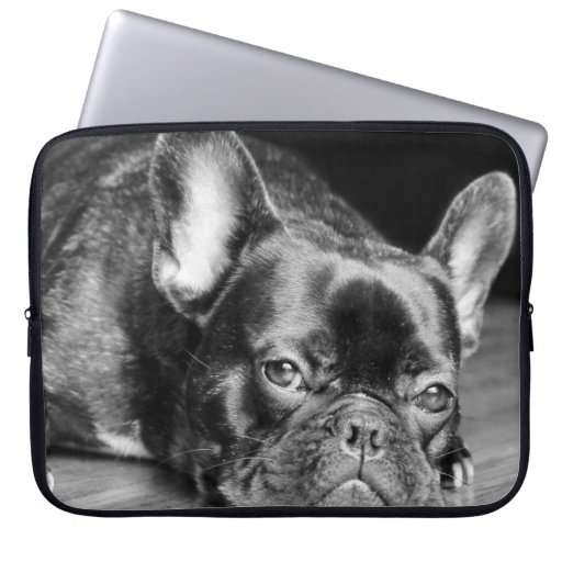 French Bulldog Laptop Computer Sleeves