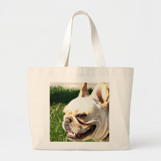 French Bulldog Large Tote Bag