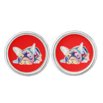 French Bulldog Lines Cufflinks