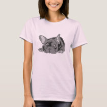 French Bulldog Lines T-Shirt