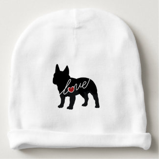 French Bulldog Love Baby Beanie
