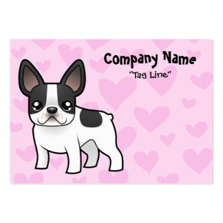 French Bulldog Love Large Business Cards (Pack Of 100)