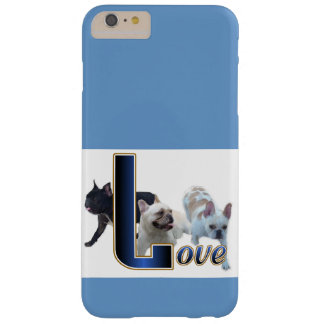 French Bulldog Love Barely There iPhone 6 Plus Case