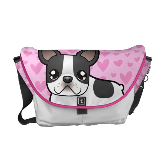 French Bulldog Love Courier Bag