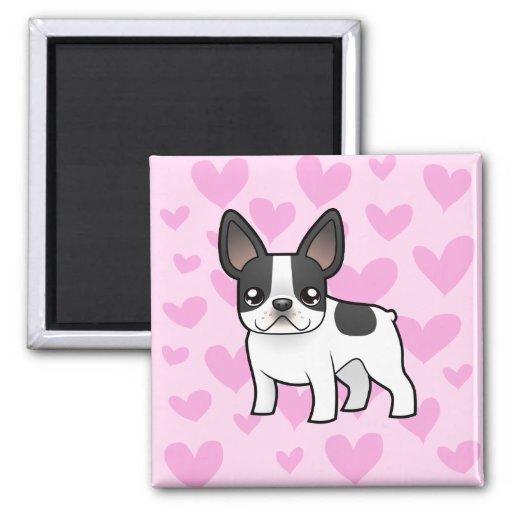 French Bulldog Love Fridge Magnet