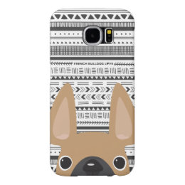 French Bulldog Love Geo Case Fawn Mono