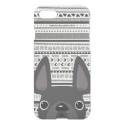 Uncommon iPhone 7 Clearly™ Deflector Case with Bulldog Phone Cases design