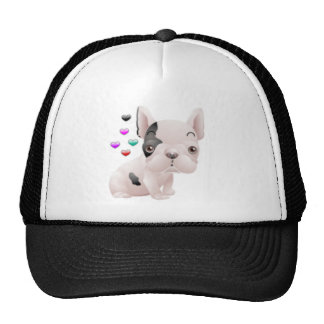 French Bulldog Love Trucker Hat