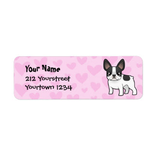 French Bulldog Love Label