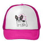 French Bulldog Love Mesh Hats