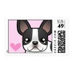 French Bulldog Love Postage