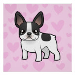 French Bulldog Love Poster