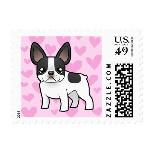 French Bulldog Love Stamp