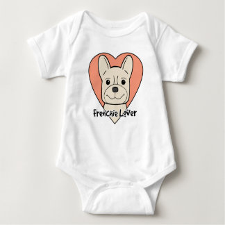 French Bulldog Lover Baby Bodysuit