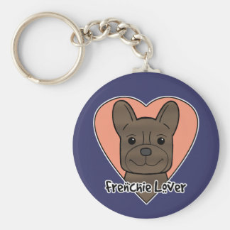 French Bulldog Lover Keychain