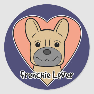 French Bulldog Lover Stickers