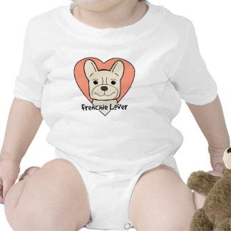 French Bulldog Lover Baby Bodysuits
