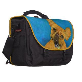 French Bulldog Mail Bag Laptop Messenger Bag