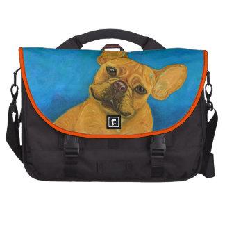 French Bulldog Mail Bag Laptop Bags