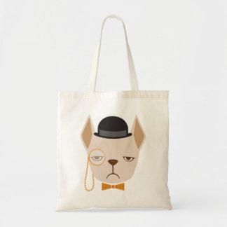 French Bulldog Mean Mug Tote