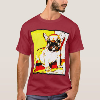 French bulldog mens shirt