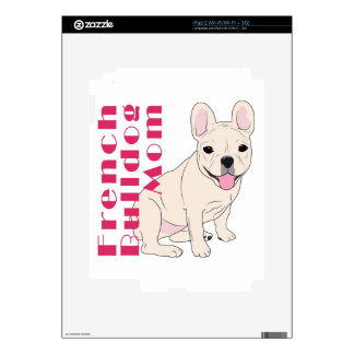 French Bulldog Mom 1 Decal For iPad 2